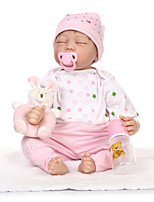 cheap -Reborn Doll 22inch Silicone Girls' Kid's Gift