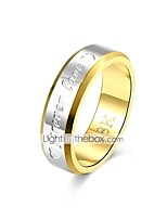 cheap -Band Ring - Vintage, Basic 8 / 9 Gold For Gift / Daily