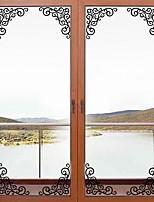 abordables -Autocollants muraux décoratifs - Autocollants avion Arabesque Salle de séjour / Chambre à coucher
