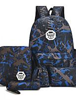 preiswerte -Unisex Taschen Oxford Tuch Bag Set 5 Stück Geldbörse Set Muster / Druck für Draussen Grün / Rote / Fuchsia