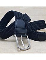 cheap -Men's Women's Vintage Active Fabric Waist Belt - Solid Colored