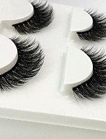 cheap -Eye 1 Volumized / Natural / Curly Daily Makeup Full Strip Lashes / Thick Make Up Professional / Portable Life / Professional Daily