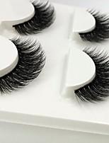 abordables -Œil 1 Dense / Naturel / Bouclé Maquillage Quotidien Cils Entiers / Epais Maquillage Professionnel / Portable Vie / Professionnel Quotidien