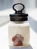 cheap -Drinkware High Boron Glass Glass Portable / Cute 1pcs