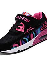 Недорогие -Девочки Обувь Свиная кожа Весна Удобная обувь Спортивная обувь для Белый / Черный / Розовый