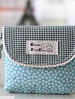 cheap -Women's Bags Fabric / Cotton Coin Purse Zipper for Outdoor Dark Green / Fuchsia / Royal Blue