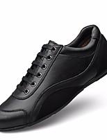 economico -Per uomo Scarpe Pelle Inverno Comoda Sneakers Nero