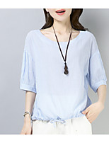 cheap -Women's Vintage T-shirt - Solid Colored