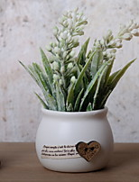 Недорогие -Искусственные Цветы 1 Филиал Деревня Светло-голубой Букеты на стол