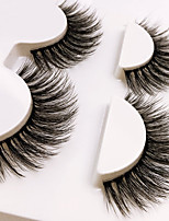 cheap -Eye 1 Natural / Curly Daily Makeup Full Strip Lashes / Crisscross Make Up Portable Portable / Professional Others 1cm-1.5cm