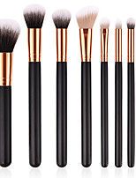 cheap -8pcs Makeup Brushes Professional Makeup Brush Set Nylon fiber Eco-friendly / Soft Wooden / Bamboo