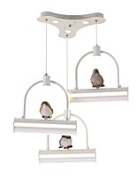 cheap -Artistic Nature Inspired Chandelier Downlight - Matte Mini Style, 110-120V 220-240V, Warm White, Bulb Included