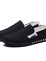 preiswerte -Herrn Schuhe Stoff Sommer Komfort Loafers & Slip-Ons Schwarz / Grau / Rot