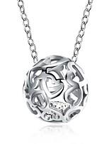 cheap -Pendant Necklace  -  Love Unique Design, European, Fashion Silver 46 cm Necklace For Gift, Carnival