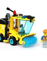cheap -Building Blocks 102pcs Parent-Child Interaction City View Construction Truck Set Gift