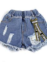 economico -Bambino Da ragazza Tinta unita / Con stampe Pantaloni