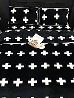 cheap -Duvet Cover Sets Geometric Poly / Cotton Reactive Print 4 Piece