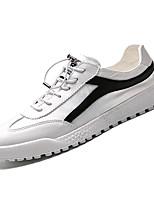 economico -Per uomo Scarpe PU (Poliuretano) Autunno Comoda Sneakers Rosso / Bianco / nero