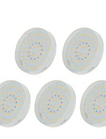 cheap -5pcs 5W 48 LEDs Easy Install LED Cabinet Lights Warm White Cold White Natural White 220-240V Hallway / Stairwell