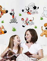 cheap -Decorative Wall Stickers - Plane Wall Stickers Animals Living Room