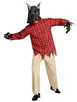 abordables -Angel y Diablo / Fantasma Accesorios Unisex Halloween / Carnaval / Dia de los Muertos Festival / Celebración Disfraces de Halloween Rojo