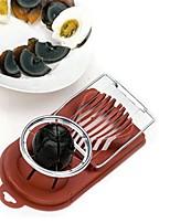 Недорогие -Кухонные принадлежности Нержавеющая сталь + пластик Творчество Формы для нарезки / Для яиц / Слайсер Для Egg 1шт
