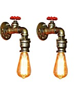 cheap -OYLYW Mini Style Simple / Retro / Vintage Wall Lamps & Sconces Living Room / Kitchen Metal Wall Light 110-120V / 220-240V 60W