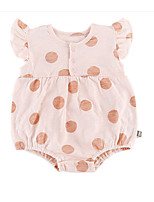 cheap -Baby Girls' Polka Dot Sleeveless Bodysuit