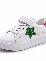 cheap -Girls' Shoes PU Spring & Summer Comfort Sneakers Sequin / Magic Tape for Red / Green