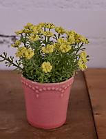 baratos -Flores artificiais 1 Ramo Rústico Gipsofila Flor de Mesa
