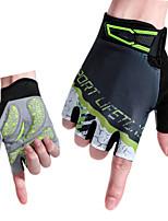 cheap -Sports Gloves Bike Gloves / Cycling Gloves Anti-Slip / Breathable Microfiber / Lycra Spandex Road Cycling / Cycling / Bike Men's