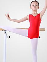 abordables -Danse classique justaucorps Femme Entraînement / Utilisation Coton Ruché Sans Manches Taille moyenne Collant / Combinaison