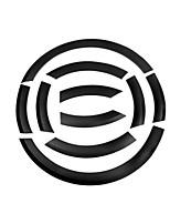 abordables -10pcs Voiture Sourcil de roue de voiture Business Type de pâte For Roue de voiture For Audi Q5 2018 / 2017 / 2016