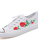 economico -Per uomo Scarpe Di corda Primavera / Autunno Suole leggere Sneakers Bianco / Nero / Rosso