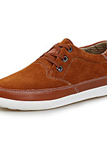 cheap -Men's Shoes Pigskin Fall Comfort Sneakers Gray / Brown / Blue