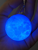 preiswerte -HKV 1pc 3D Nachtlicht RGB Dekoration Sicherheit Farbwechsel