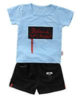 cheap -Kids / Toddler Boys' Print Short Sleeve Clothing Set