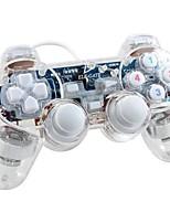 abordables -GM.04 Câblé Contrôleurs de jeu Pour Polycarbonate Vibration Contrôleurs de jeu ABS 1pcs unité USB 2.0