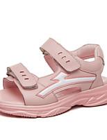 Недорогие -Мальчики Обувь Полиуретан Лето Удобная обувь Сандалии для Белый / Черный / Розовый