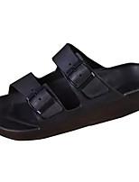 cheap -Men's Shoes Rubber Summer Comfort Slippers & Flip-Flops for Outdoor Black Blue