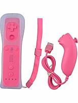 baratos -WII Com Fio Protetor de caso / Controladores de jogos Para Wii ,  Protetor de caso / Controladores de jogos Silicone / ABS 1pcs unidade