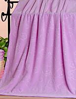 abordables -Qualité supérieure Serviette de bain, Fleur Polyester / Coton 1 pcs