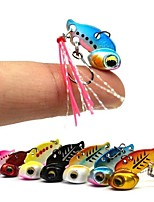 cheap -2pcs pcs Hard Bait Hard Bait Metalic Sea Fishing / Fly Fishing / Bait Casting