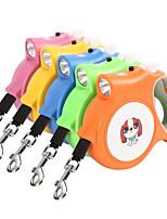 baratos -Cachorros Automático / Electrónico / Elétrico Estampa Colorida / Desenho Animado Terylene Azul / Rosa claro