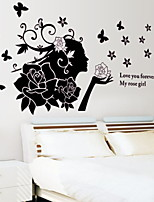 cheap -Decorative Wall Stickers - Plane Wall Stickers Arabesque Living Room / Bedroom