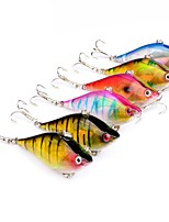 cheap -6pcs pcs Crank / Fishing Lures Hard Bait Plastic Outdoor Bait Casting / Lure Fishing / General Fishing
