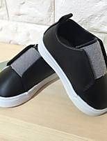 abordables -Garçon Chaussures Polyuréthane Printemps Confort Basket Scotch Magique pour De plein air Noir Gris Rose