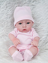 cheap -NPKCOLLECTION Reborn Doll Baby Girl 12 inch Full Body Silicone / Silicone - Hand Applied Eyelashes, Tipped and Sealed Nails, Floppy Head Kid's Unisex Gift / Natural Skin Tone