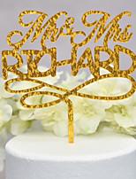 Недорогие -Украшения для торта Классика / Свадьба новый Acryic / полиэстер Свадьба / Годовщина с Акрил 1pcs Пенополиуретан