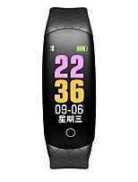 cheap -Smart Bracelet CB608 PRO for iOS / Android 4.3 and above Touch Screen / Heart Rate Monitor / Creative Pedometer / Sleep Tracker / Find My